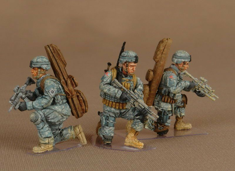 NATO in Miniatures USA-015 1 35 Modern US Snipers Group 82st Airborne Division