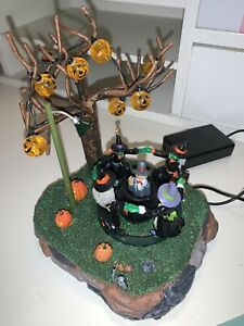 Lemax Cooking Up A Ghoul Halloween Village Witches