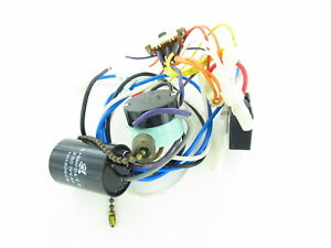 27 - Used Hampton Bay Ceiling Fan Wiring Harness with Switches ... Hampton Bay Ceiling Fan Wiring Harness on hampton bay ceiling fan wireless remote, hampton bay ceiling fan mounting plate, hampton bay ceiling fan bracket, hampton bay ceiling fan light cover,