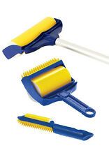 Sticky Buddy 3 Piece Set Cleans Hair & Crumbs Off Fabrics Reusable Rinse Dry