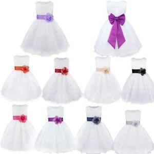 Vestidos elegantes de nina para boda