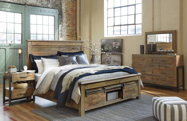 Ashley Furniture Sommerford Queen 6 Piece Bed Set W Storage B775