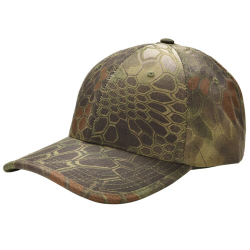 Men Camouflage Military Adjustable Hat Camo Hunting Fishing Army Baseball Cap FO