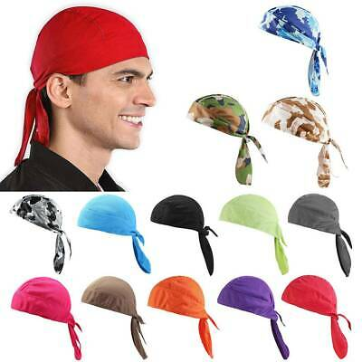 Unisex Cycling Skull Cap Under Helmet Windproof Beanie Bandana Hat Swim Cap