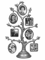 Malden Family Tree Fashion Metal Frame, 2-sided With 14-small Frames , New, Free on sale