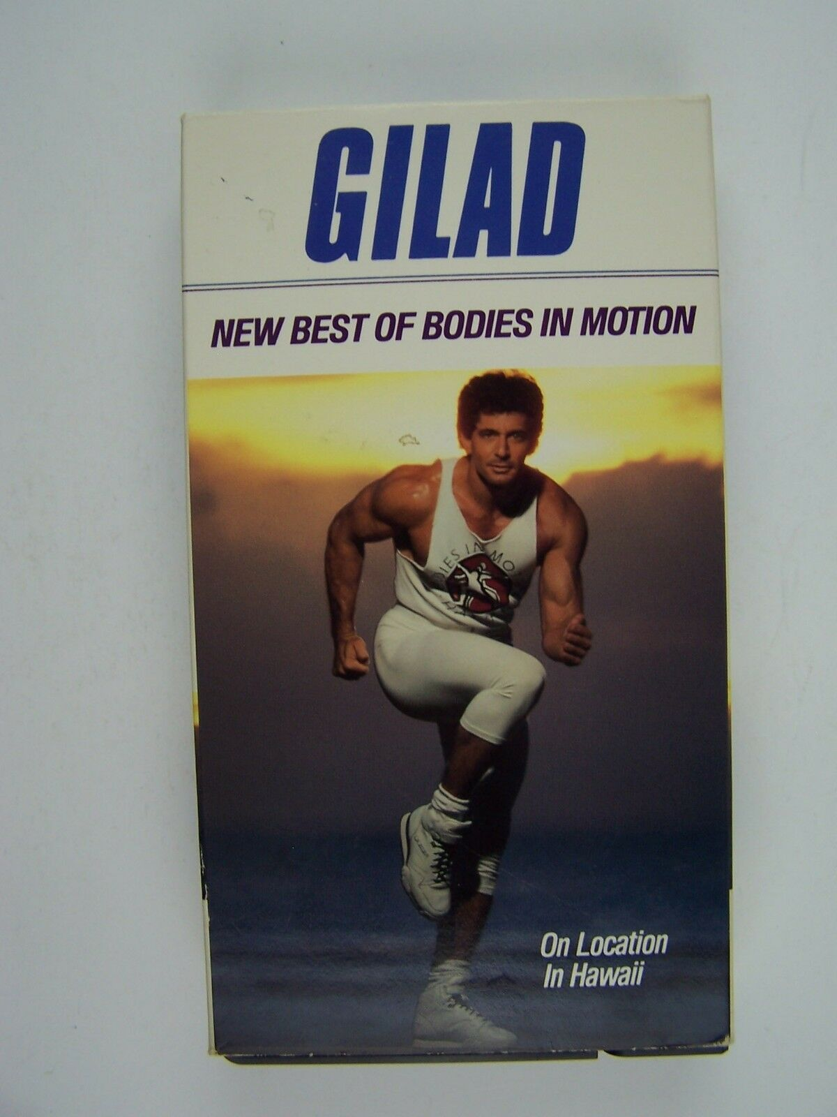 Gilad - The New Best of Bodies in Motion VHS Video Tape