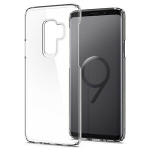 new concept ea378 ae947 Details about Spigen Galaxy S9 Thin Fit Scratch Resistant Crystal Clear  Case (593CS22961)