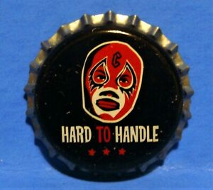COCA COLA UNUSED BOTTLE CAP - RARE COKE 2005 - HARD TO HANDLE - WRESTLING MASK