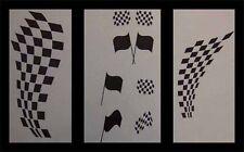 Airbrush Schablonen Set Racing 1