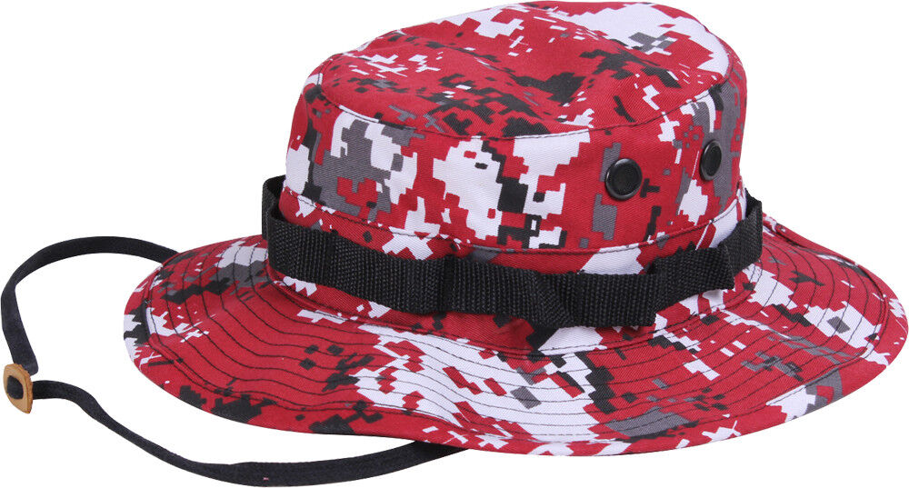 Buy Rothco Camouflage Boonie Hat - Red Digital Camo 7 online  49299f18c8f