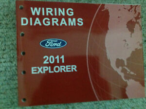 2011 ford explorer suv truck electrical wiring diagram service shop manual  oem | ebay  ebay