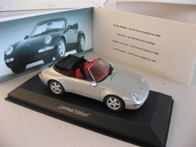 993 Porsche  911  Convertible voiturerera Cabriolet Dealer Item Model by Minichamps  shopping en ligne