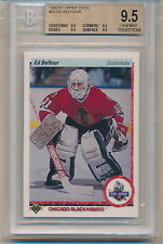 1990 Upper Deck Ed Belfour (HOF) (RC) (#356) (All 9.5 sub grades) BGS9.5 BGS