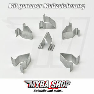 15x-metal-support-supports-Borne-mere-SEAT-VW-Skoda