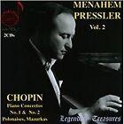 Frederic Chopin - Legendary Treasures: Menahem Pressler, Vol. 2 (2013)