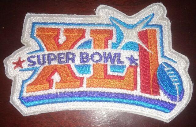 NFL CHAMPIONSHIP GAME SUPER BOWL XLI SUPERBOWL SB 41 COLTS BEARS JERSEY PATCH