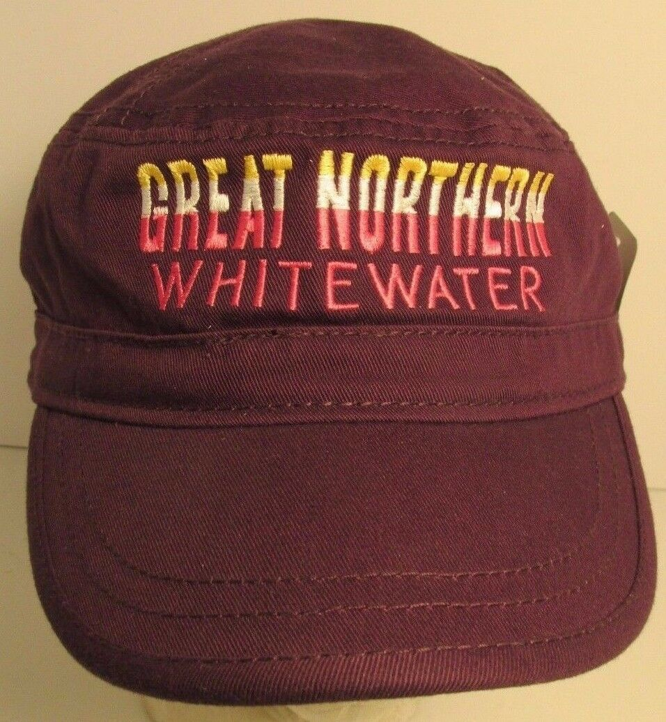 Great Northern Park Hat Cap WhiteWater Glacier National Park Northern USA Embroidery New 48945d