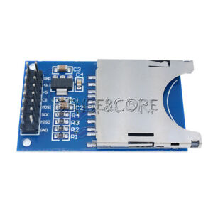 2-5-10Stks-SD-Card-Module-Slot-Socket-Reader-For-Arduino-ARM-MCU-Read-And-Write