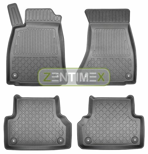 Z330067 SET Kofferraumwanne Gummifußmatten für Audi A5 Sportback 4WD Allradantri