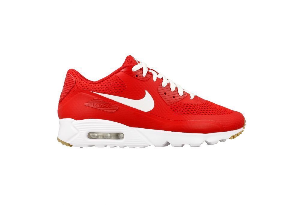 Size 11.5 Nike Men Air Max 90 90 90 Ultra Essential 819474 601 Red White Tan b4d46e
