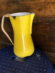 Kobenstyle-Yellow-Enamelware-Pitcher-Denmark-IHQ