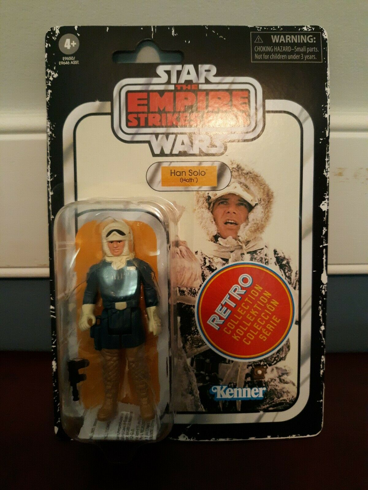 "Star Wars Rétro Collection Princesse Leia Hoth 3.75/"" années 80 style action figure"