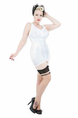 zip corselette suspenders firm control 36 38 40 42 44 46 B C D DD E