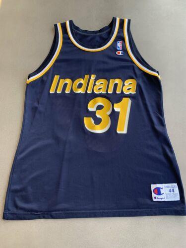 Reggie Miller Indiana Pacers Vintage 90/'s Away NBA Jersey