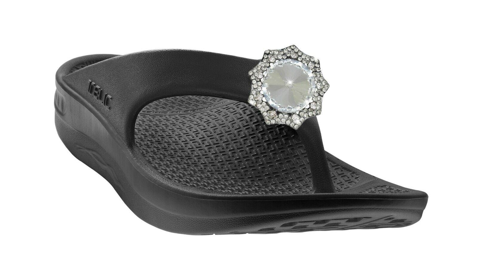 TELIC Flip Flop Sandale habillé avec Bling-porter partout, toute occasion
