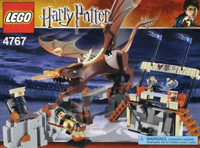 Neu Lego Harry Potter 4767 Harry und die Ungarisch Horntail