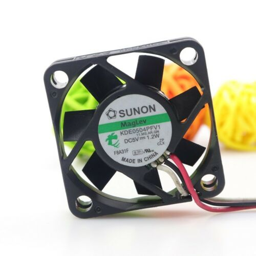 For 1PC SUNON KDE0504PFV1 4010 4CM 5V 1.2W 3-wire cooling fan