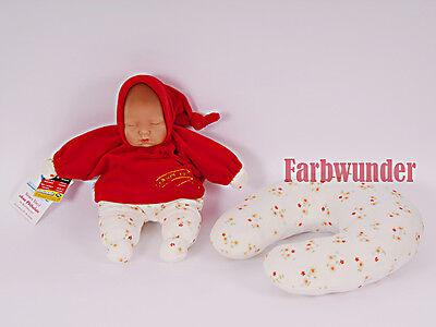 Hardwerkend Schildkröt Puppe Babypuppe Spielpuppe Träumerle Rot 28 Cm Neu