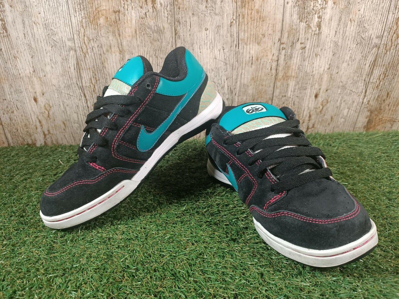 Nike air mogan 6.0 Femme Noir/vert taille 4 UK 37.5 eur