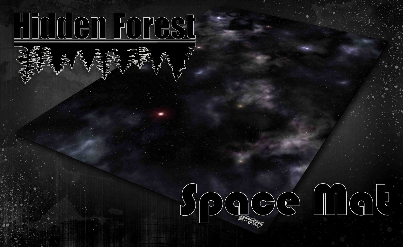 Hiddenforest raum gaming - matte für x-wing und armada (mouse pad material)