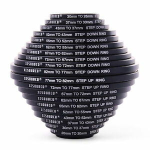 10x Step Up + 10x Step Down Ring Filter Stepping Adapter 26-82mm 82-26mm DC162