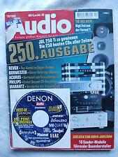 AUDIO 10/98.TANNOY P 10,SYSTEM AUDIO 1110,SONY SSX 7,QUADRAL ARGENT 50,ELAC CL82