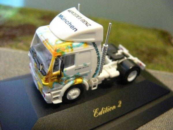 1 87 Herpa MB  SK Munich Globe Tractor ZM   11  envoi gratuit dans le monde entier