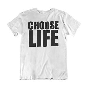 Choisir-Vie-Retro-80-s-Fete-Robe-Fantaisie-WHAM-Unisexe-Femmes-T-shirt-homme-musique