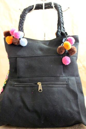 Boho Schultertasche Tasche Gestickte Echte Tribal Tag Vintage Handtasche Jeden xgFwtq