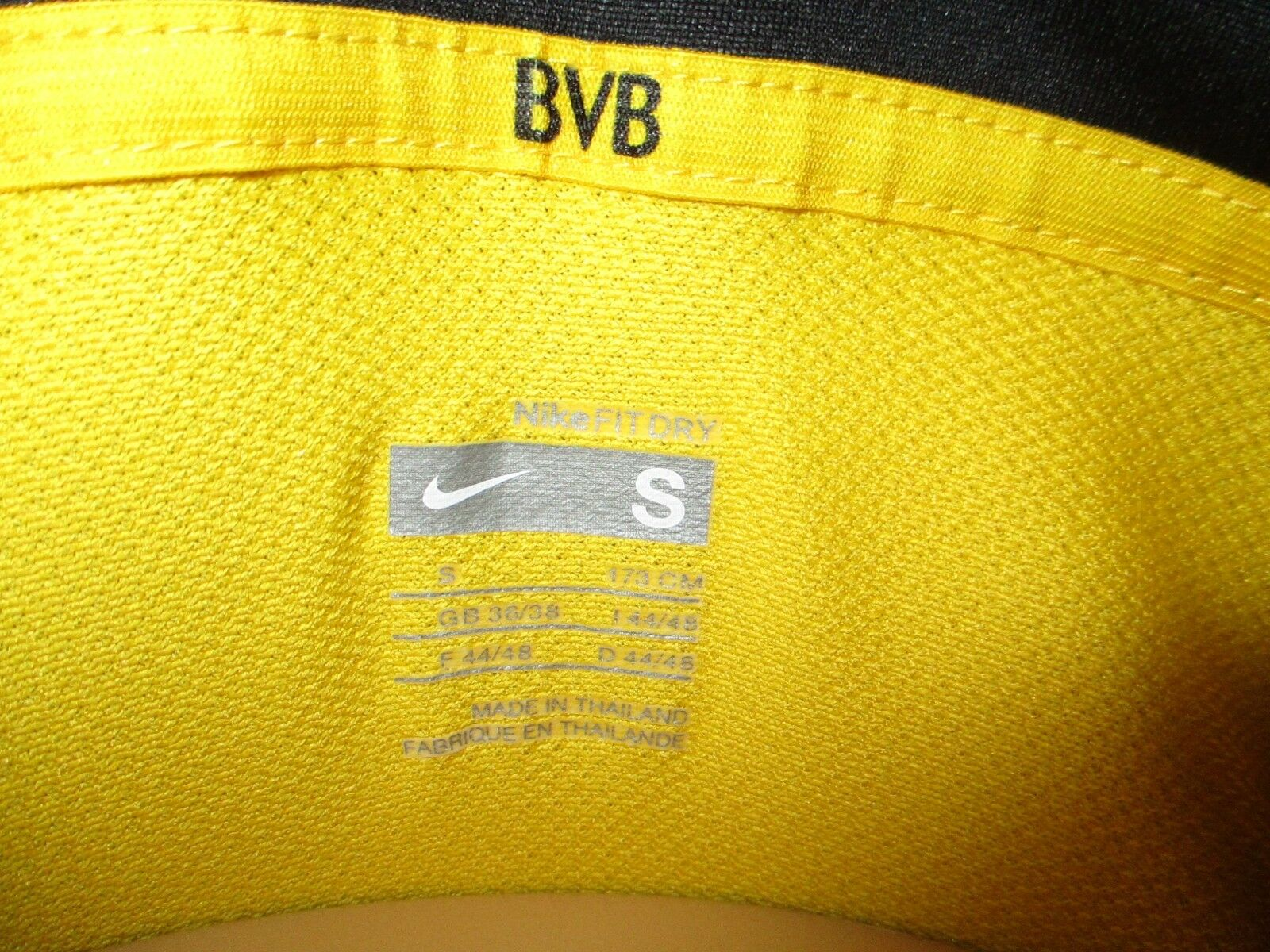 Borussia Dortmund Nike Trikot 07 07 07 08  EVONIK INDUSTRIES  + Nr.8 Federico Gr.S- M d3c31f