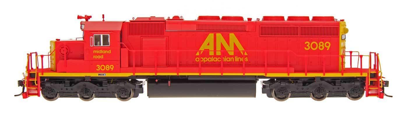 marca en liquidación de venta Intermountain Ho Ho Ho 49360 (s) locomotora de Allegheny Midland SD40-2