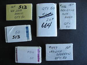 CANADA wholesale 300 used better 486(50),497(50),515(100),514(50),664(50)