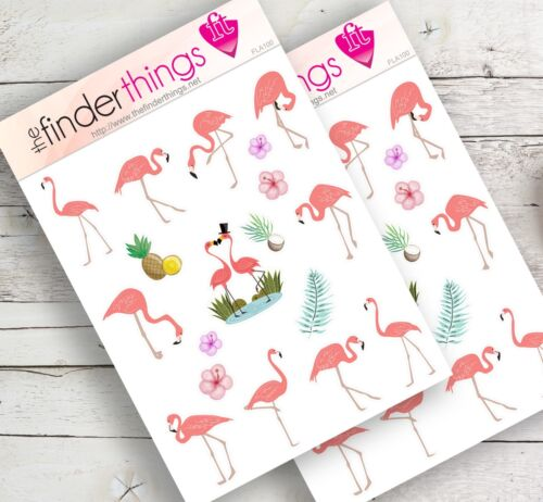 Flamingo Stickers Scrapbook /& Fun Crafts Flamingos Animals Planner Diary