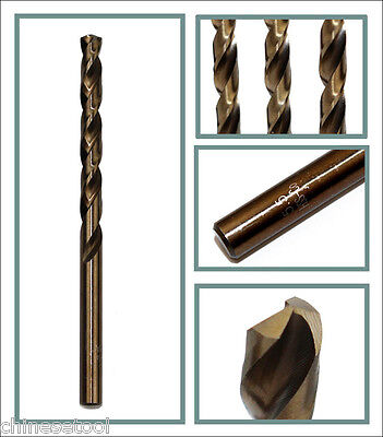 5pcs cobalt drill bit 4.3mm Co steel alloys Straight Shank Twist Drill