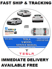 item 4 tesla model s 2012-2016 service manual + wiring diagram bonus theory  ops 13 14 5 -tesla model s 2012-2016 service manual + wiring diagram bonus