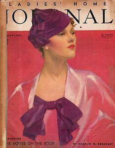 1935 Ladies Home Journal January - Clarence Budington Kelland;fur ...