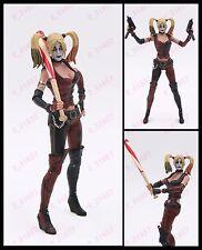 "Batman Arkham City NECA Harley Quinn Joker assistant 7"" PVC action figure in box"