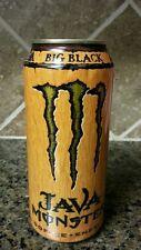 2007 Monster Energy Big Black Drink Can  - 15oz FULL