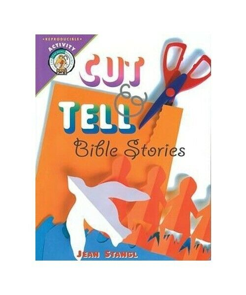 """Jean Stangl """"Cut-And-Tell Bible Stories"""""""