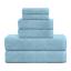 De-Lujo-cero-Twist-600GSM-6-Pc-Conjunto-de-toallas-de-bano-Juego-de-toallas-de-mano-Toalla-de-Bano miniatura 19